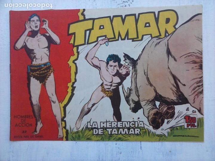 Tebeos: TAMAR COLECCION COMPLETA ORIGINAL SUELTA 1 al 186 - MAGNÍFICO ESTADO, VER TODAS LAS PORTADAS, 1961 - Foto 113 - 135844734