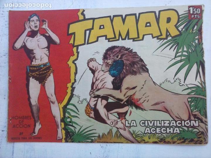 Tebeos: TAMAR COLECCION COMPLETA ORIGINAL SUELTA 1 al 186 - MAGNÍFICO ESTADO, VER TODAS LAS PORTADAS, 1961 - Foto 114 - 135844734