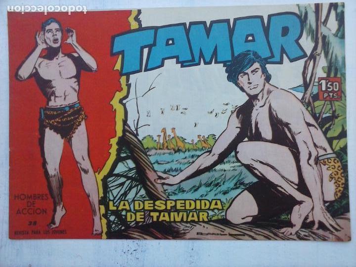 Tebeos: TAMAR COLECCION COMPLETA ORIGINAL SUELTA 1 al 186 - MAGNÍFICO ESTADO, VER TODAS LAS PORTADAS, 1961 - Foto 115 - 135844734