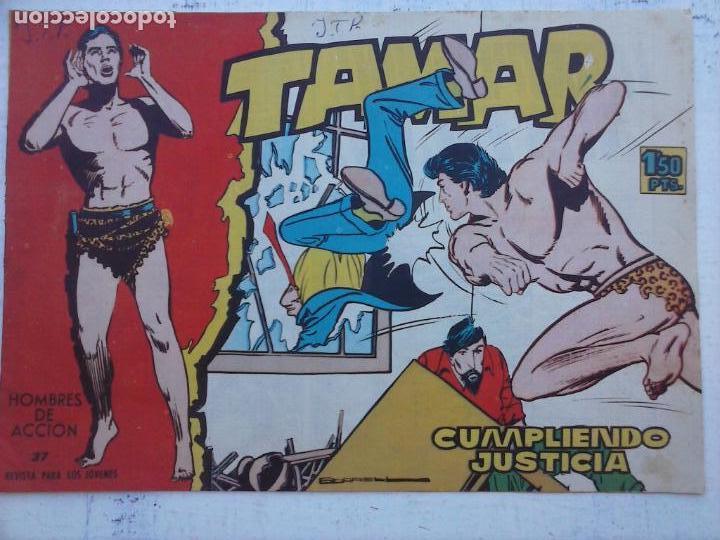 Tebeos: TAMAR COLECCION COMPLETA ORIGINAL SUELTA 1 al 186 - MAGNÍFICO ESTADO, VER TODAS LAS PORTADAS, 1961 - Foto 116 - 135844734