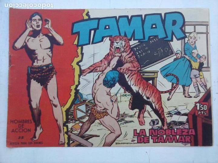 Tebeos: TAMAR COLECCION COMPLETA ORIGINAL SUELTA 1 al 186 - MAGNÍFICO ESTADO, VER TODAS LAS PORTADAS, 1961 - Foto 117 - 135844734