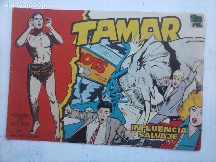 Tebeos: TAMAR COLECCION COMPLETA ORIGINAL SUELTA 1 al 186 - MAGNÍFICO ESTADO, VER TODAS LAS PORTADAS, 1961 - Foto 118 - 135844734