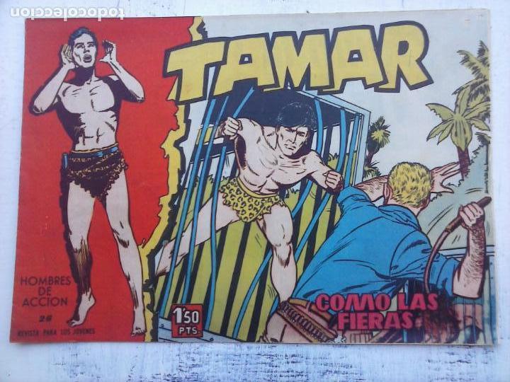 Tebeos: TAMAR COLECCION COMPLETA ORIGINAL SUELTA 1 al 186 - MAGNÍFICO ESTADO, VER TODAS LAS PORTADAS, 1961 - Foto 119 - 135844734