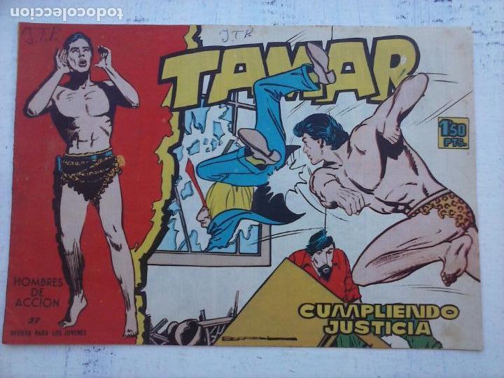 Tebeos: TAMAR COLECCION COMPLETA ORIGINAL SUELTA 1 al 186 - MAGNÍFICO ESTADO, VER TODAS LAS PORTADAS, 1961 - Foto 120 - 135844734