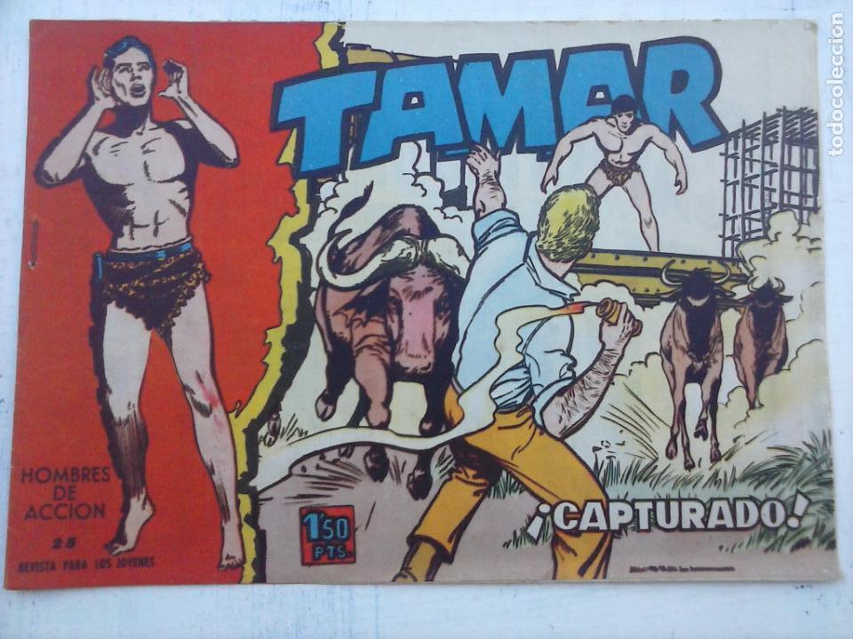 Tebeos: TAMAR COLECCION COMPLETA ORIGINAL SUELTA 1 al 186 - MAGNÍFICO ESTADO, VER TODAS LAS PORTADAS, 1961 - Foto 121 - 135844734