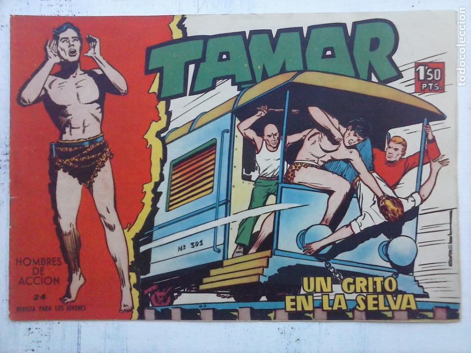 Tebeos: TAMAR COLECCION COMPLETA ORIGINAL SUELTA 1 al 186 - MAGNÍFICO ESTADO, VER TODAS LAS PORTADAS, 1961 - Foto 122 - 135844734