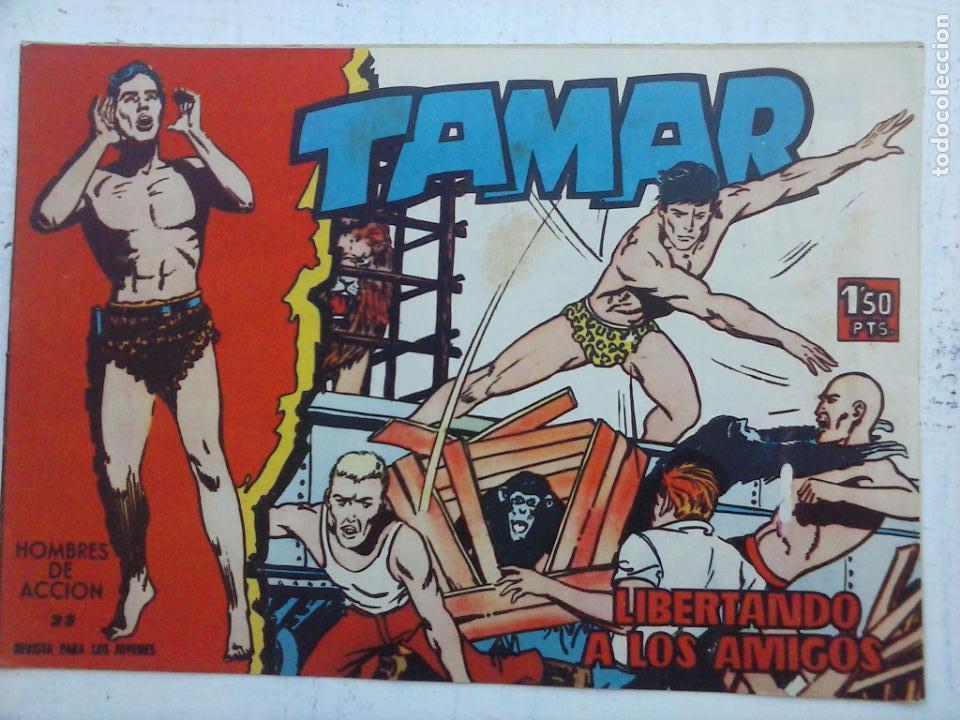 Tebeos: TAMAR COLECCION COMPLETA ORIGINAL SUELTA 1 al 186 - MAGNÍFICO ESTADO, VER TODAS LAS PORTADAS, 1961 - Foto 123 - 135844734