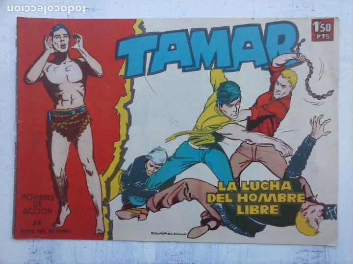 Tebeos: TAMAR COLECCION COMPLETA ORIGINAL SUELTA 1 al 186 - MAGNÍFICO ESTADO, VER TODAS LAS PORTADAS, 1961 - Foto 124 - 135844734