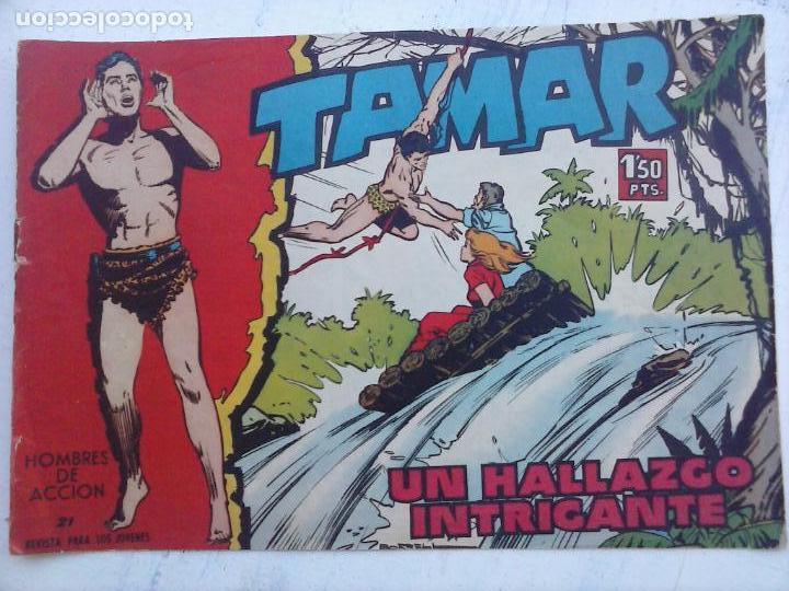 Tebeos: TAMAR COLECCION COMPLETA ORIGINAL SUELTA 1 al 186 - MAGNÍFICO ESTADO, VER TODAS LAS PORTADAS, 1961 - Foto 125 - 135844734