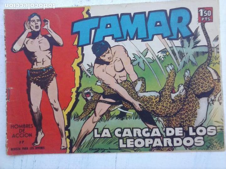 Tebeos: TAMAR COLECCION COMPLETA ORIGINAL SUELTA 1 al 186 - MAGNÍFICO ESTADO, VER TODAS LAS PORTADAS, 1961 - Foto 127 - 135844734