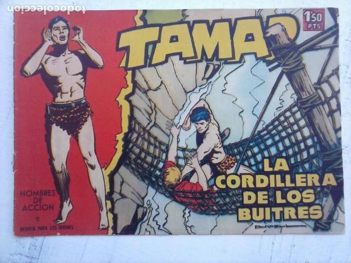 Tebeos: TAMAR COLECCION COMPLETA ORIGINAL SUELTA 1 al 186 - MAGNÍFICO ESTADO, VER TODAS LAS PORTADAS, 1961 - Foto 130 - 135844734