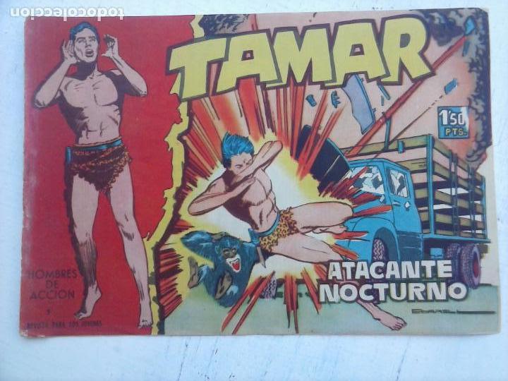 Tebeos: TAMAR COLECCION COMPLETA ORIGINAL SUELTA 1 al 186 - MAGNÍFICO ESTADO, VER TODAS LAS PORTADAS, 1961 - Foto 131 - 135844734