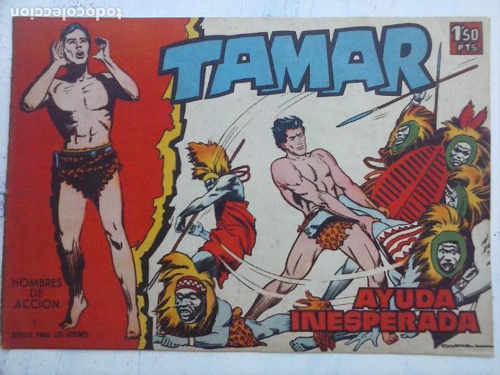 Tebeos: TAMAR COLECCION COMPLETA ORIGINAL SUELTA 1 al 186 - MAGNÍFICO ESTADO, VER TODAS LAS PORTADAS, 1961 - Foto 132 - 135844734