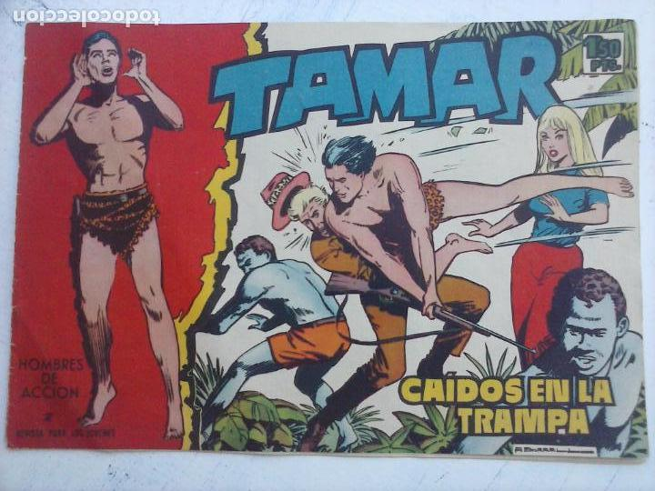 Tebeos: TAMAR COLECCION COMPLETA ORIGINAL SUELTA 1 al 186 - MAGNÍFICO ESTADO, VER TODAS LAS PORTADAS, 1961 - Foto 135 - 135844734