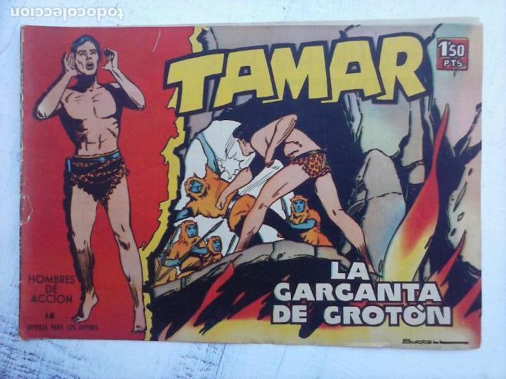 Tebeos: TAMAR COLECCION COMPLETA ORIGINAL SUELTA 1 al 186 - MAGNÍFICO ESTADO, VER TODAS LAS PORTADAS, 1961 - Foto 136 - 135844734