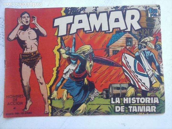 Tebeos: TAMAR COLECCION COMPLETA ORIGINAL SUELTA 1 al 186 - MAGNÍFICO ESTADO, VER TODAS LAS PORTADAS, 1961 - Foto 137 - 135844734