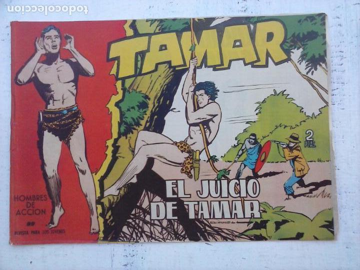 Tebeos: TAMAR COLECCION COMPLETA ORIGINAL SUELTA 1 al 186 - MAGNÍFICO ESTADO, VER TODAS LAS PORTADAS, 1961 - Foto 140 - 135844734