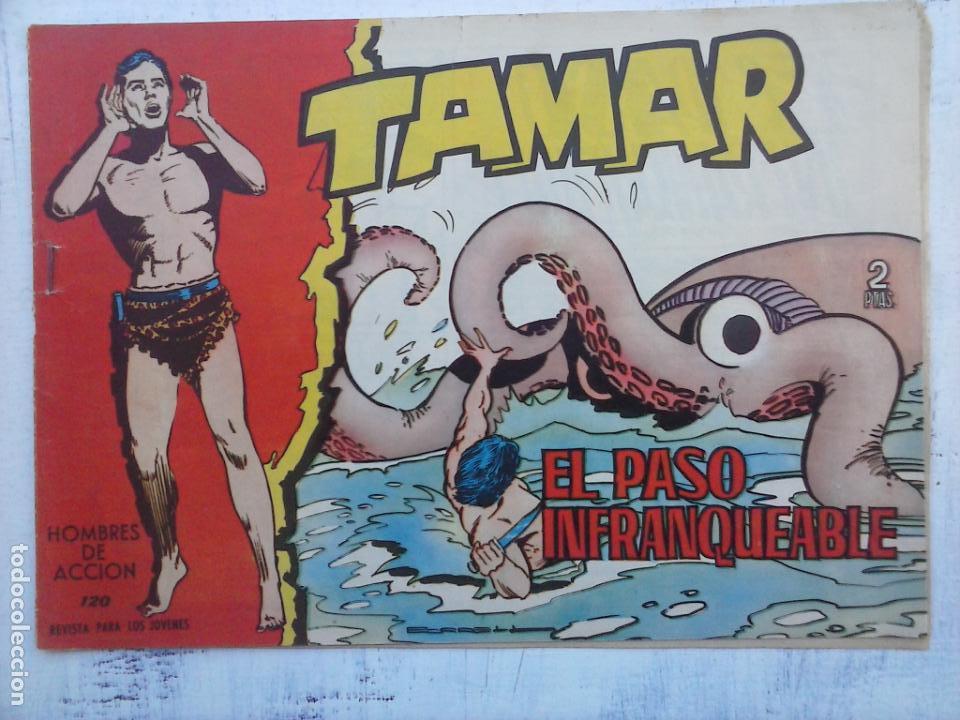 Tebeos: TAMAR COLECCION COMPLETA ORIGINAL SUELTA 1 al 186 - MAGNÍFICO ESTADO, VER TODAS LAS PORTADAS, 1961 - Foto 142 - 135844734