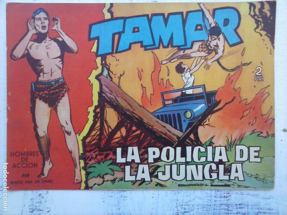 Tebeos: TAMAR COLECCION COMPLETA ORIGINAL SUELTA 1 al 186 - MAGNÍFICO ESTADO, VER TODAS LAS PORTADAS, 1961 - Foto 144 - 135844734