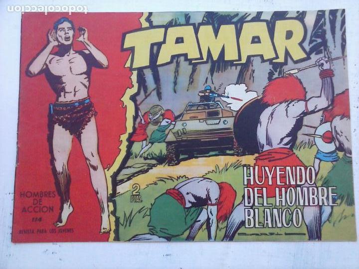 Tebeos: TAMAR COLECCION COMPLETA ORIGINAL SUELTA 1 al 186 - MAGNÍFICO ESTADO, VER TODAS LAS PORTADAS, 1961 - Foto 145 - 135844734