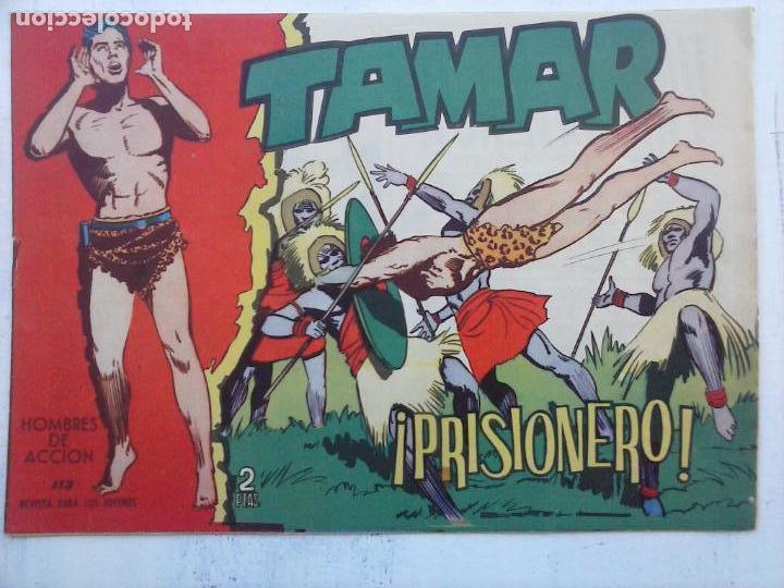 Tebeos: TAMAR COLECCION COMPLETA ORIGINAL SUELTA 1 al 186 - MAGNÍFICO ESTADO, VER TODAS LAS PORTADAS, 1961 - Foto 146 - 135844734