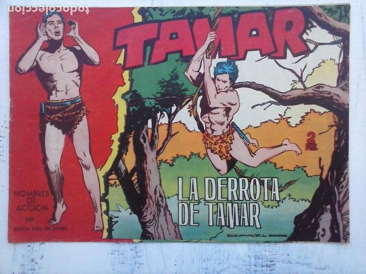 Tebeos: TAMAR COLECCION COMPLETA ORIGINAL SUELTA 1 al 186 - MAGNÍFICO ESTADO, VER TODAS LAS PORTADAS, 1961 - Foto 147 - 135844734
