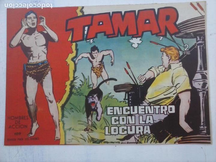Tebeos: TAMAR COLECCION COMPLETA ORIGINAL SUELTA 1 al 186 - MAGNÍFICO ESTADO, VER TODAS LAS PORTADAS, 1961 - Foto 148 - 135844734