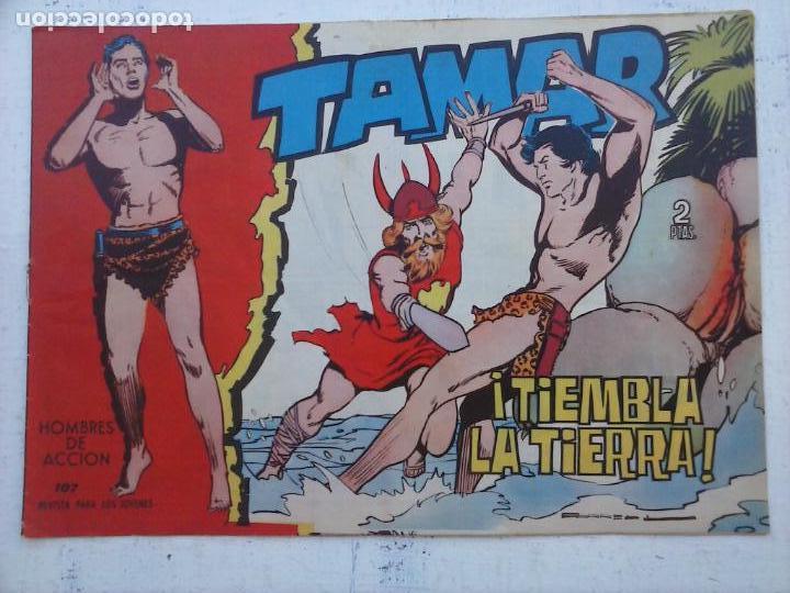 Tebeos: TAMAR COLECCION COMPLETA ORIGINAL SUELTA 1 al 186 - MAGNÍFICO ESTADO, VER TODAS LAS PORTADAS, 1961 - Foto 149 - 135844734