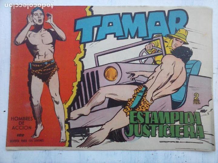 Tebeos: TAMAR COLECCION COMPLETA ORIGINAL SUELTA 1 al 186 - MAGNÍFICO ESTADO, VER TODAS LAS PORTADAS, 1961 - Foto 150 - 135844734