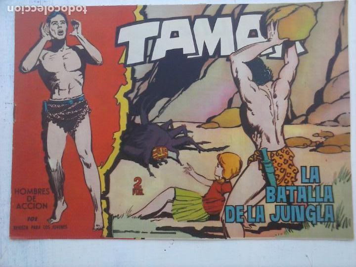 Tebeos: TAMAR COLECCION COMPLETA ORIGINAL SUELTA 1 al 186 - MAGNÍFICO ESTADO, VER TODAS LAS PORTADAS, 1961 - Foto 152 - 135844734