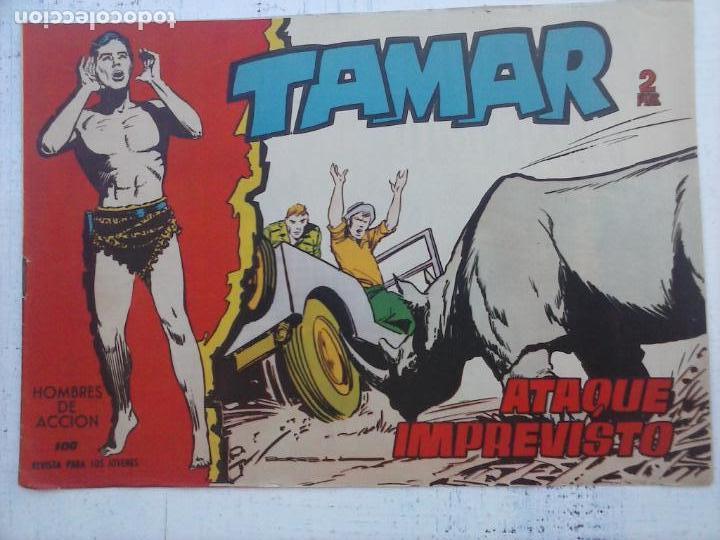 Tebeos: TAMAR COLECCION COMPLETA ORIGINAL SUELTA 1 al 186 - MAGNÍFICO ESTADO, VER TODAS LAS PORTADAS, 1961 - Foto 153 - 135844734