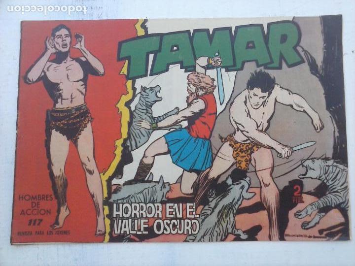 Tebeos: TAMAR COLECCION COMPLETA ORIGINAL SUELTA 1 al 186 - MAGNÍFICO ESTADO, VER TODAS LAS PORTADAS, 1961 - Foto 154 - 135844734