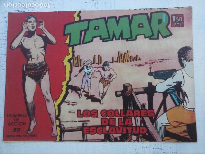 Tebeos: TAMAR COLECCION COMPLETA ORIGINAL SUELTA 1 al 186 - MAGNÍFICO ESTADO, VER TODAS LAS PORTADAS, 1961 - Foto 155 - 135844734