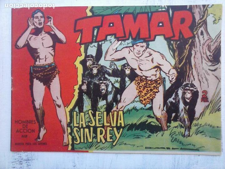 Tebeos: TAMAR COLECCION COMPLETA ORIGINAL SUELTA 1 al 186 - MAGNÍFICO ESTADO, VER TODAS LAS PORTADAS, 1961 - Foto 156 - 135844734
