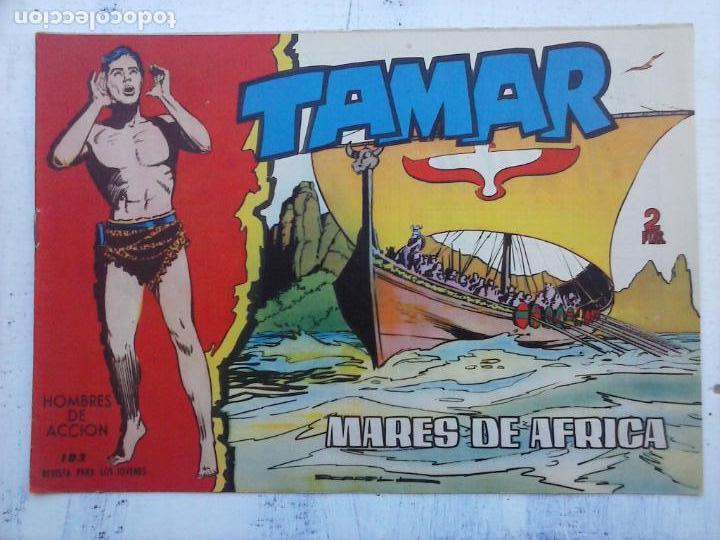 Tebeos: TAMAR COLECCION COMPLETA ORIGINAL SUELTA 1 al 186 - MAGNÍFICO ESTADO, VER TODAS LAS PORTADAS, 1961 - Foto 158 - 135844734