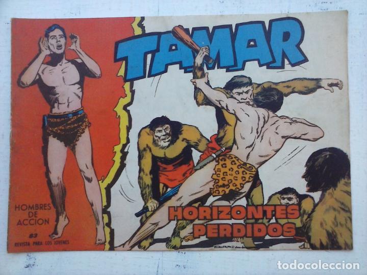 Tebeos: TAMAR COLECCION COMPLETA ORIGINAL SUELTA 1 al 186 - MAGNÍFICO ESTADO, VER TODAS LAS PORTADAS, 1961 - Foto 159 - 135844734