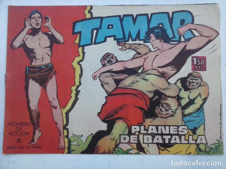 Tebeos: TAMAR COLECCION COMPLETA ORIGINAL SUELTA 1 al 186 - MAGNÍFICO ESTADO, VER TODAS LAS PORTADAS, 1961 - Foto 160 - 135844734