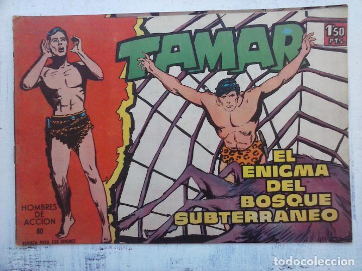 Tebeos: TAMAR COLECCION COMPLETA ORIGINAL SUELTA 1 al 186 - MAGNÍFICO ESTADO, VER TODAS LAS PORTADAS, 1961 - Foto 162 - 135844734