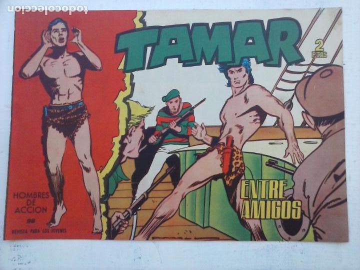 Tebeos: TAMAR COLECCION COMPLETA ORIGINAL SUELTA 1 al 186 - MAGNÍFICO ESTADO, VER TODAS LAS PORTADAS, 1961 - Foto 164 - 135844734