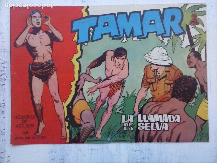 Tebeos: TAMAR COLECCION COMPLETA ORIGINAL SUELTA 1 al 186 - MAGNÍFICO ESTADO, VER TODAS LAS PORTADAS, 1961 - Foto 165 - 135844734