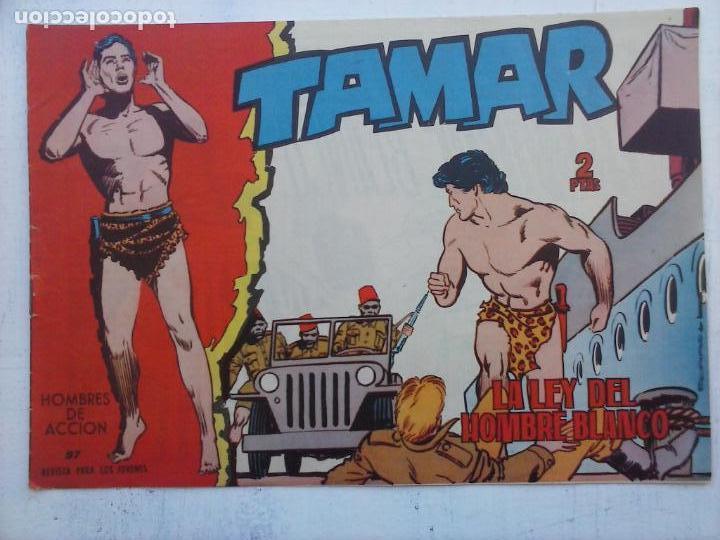Tebeos: TAMAR COLECCION COMPLETA ORIGINAL SUELTA 1 al 186 - MAGNÍFICO ESTADO, VER TODAS LAS PORTADAS, 1961 - Foto 166 - 135844734