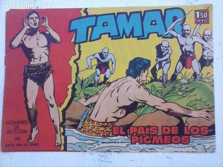 Tebeos: TAMAR COLECCION COMPLETA ORIGINAL SUELTA 1 al 186 - MAGNÍFICO ESTADO, VER TODAS LAS PORTADAS, 1961 - Foto 167 - 135844734