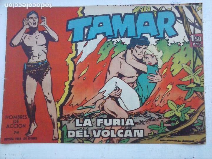 Tebeos: TAMAR COLECCION COMPLETA ORIGINAL SUELTA 1 al 186 - MAGNÍFICO ESTADO, VER TODAS LAS PORTADAS, 1961 - Foto 168 - 135844734