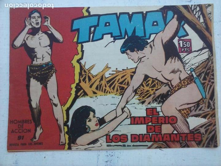 Tebeos: TAMAR COLECCION COMPLETA ORIGINAL SUELTA 1 al 186 - MAGNÍFICO ESTADO, VER TODAS LAS PORTADAS, 1961 - Foto 169 - 135844734