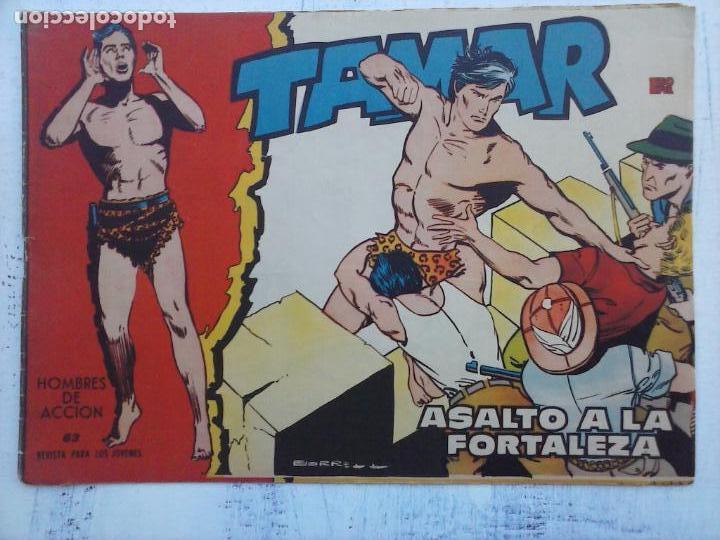 Tebeos: TAMAR COLECCION COMPLETA ORIGINAL SUELTA 1 al 186 - MAGNÍFICO ESTADO, VER TODAS LAS PORTADAS, 1961 - Foto 170 - 135844734