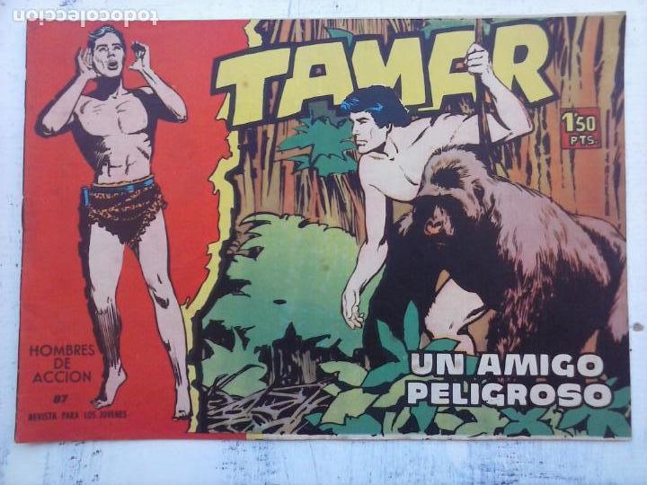 Tebeos: TAMAR COLECCION COMPLETA ORIGINAL SUELTA 1 al 186 - MAGNÍFICO ESTADO, VER TODAS LAS PORTADAS, 1961 - Foto 173 - 135844734