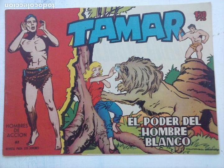 Tebeos: TAMAR COLECCION COMPLETA ORIGINAL SUELTA 1 al 186 - MAGNÍFICO ESTADO, VER TODAS LAS PORTADAS, 1961 - Foto 174 - 135844734