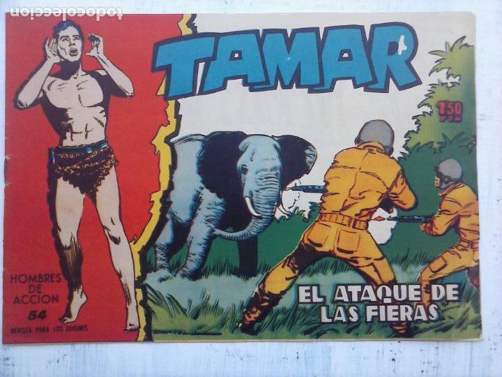 Tebeos: TAMAR COLECCION COMPLETA ORIGINAL SUELTA 1 al 186 - MAGNÍFICO ESTADO, VER TODAS LAS PORTADAS, 1961 - Foto 177 - 135844734