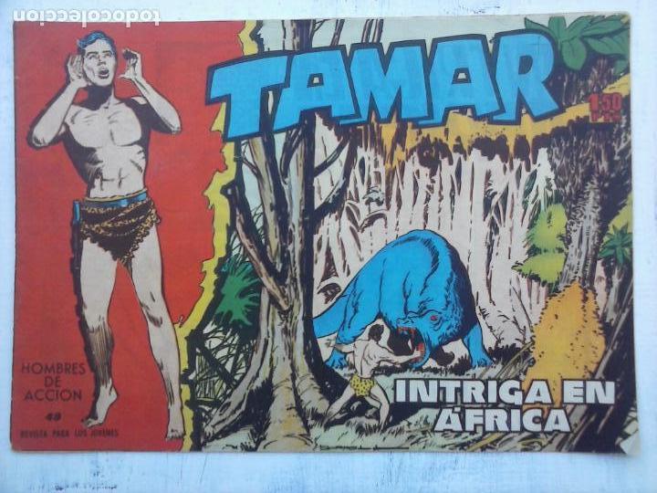Tebeos: TAMAR COLECCION COMPLETA ORIGINAL SUELTA 1 al 186 - MAGNÍFICO ESTADO, VER TODAS LAS PORTADAS, 1961 - Foto 180 - 135844734