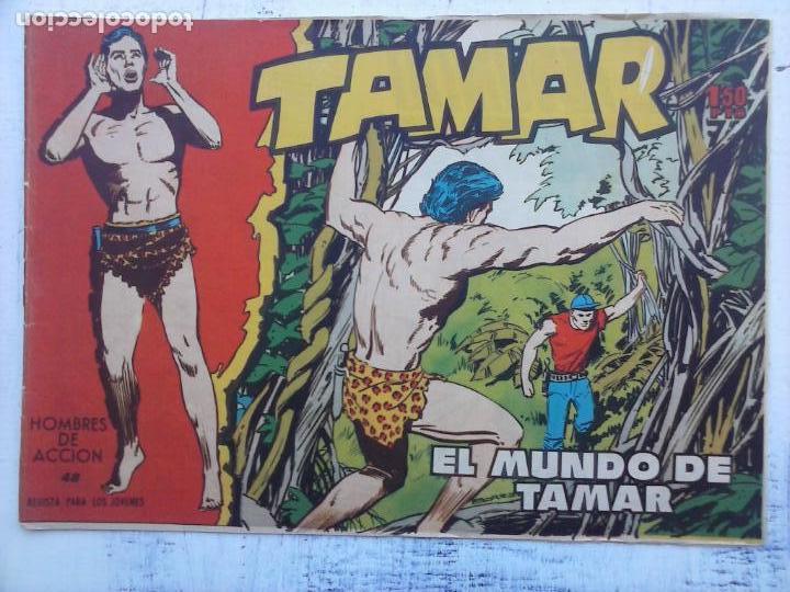 Tebeos: TAMAR COLECCION COMPLETA ORIGINAL SUELTA 1 al 186 - MAGNÍFICO ESTADO, VER TODAS LAS PORTADAS, 1961 - Foto 181 - 135844734